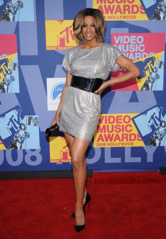 VMA 2008: Ciara magnifique !