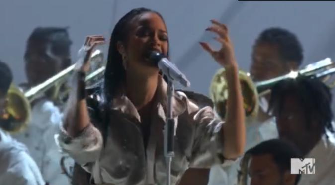 Rihanna a multiplié les prestations, quatre au total
