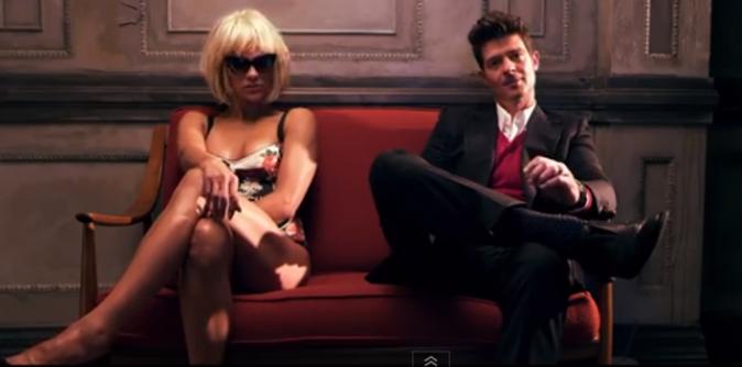 """Couples stars en vidéo : Paula Patton et Robin Thicke sur le titre """"Love After War"""""""
