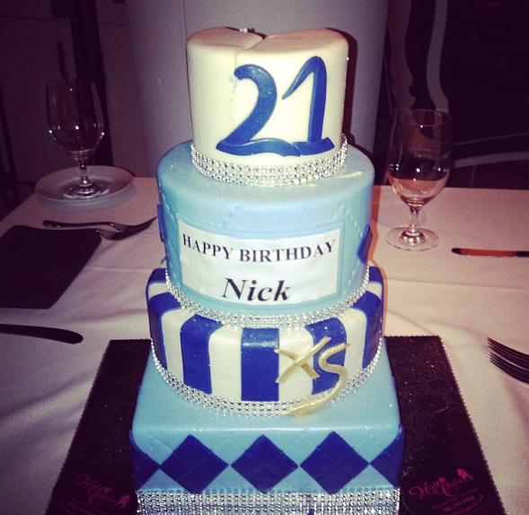 Le gâteau d'anniversaire de Nick Jonas !