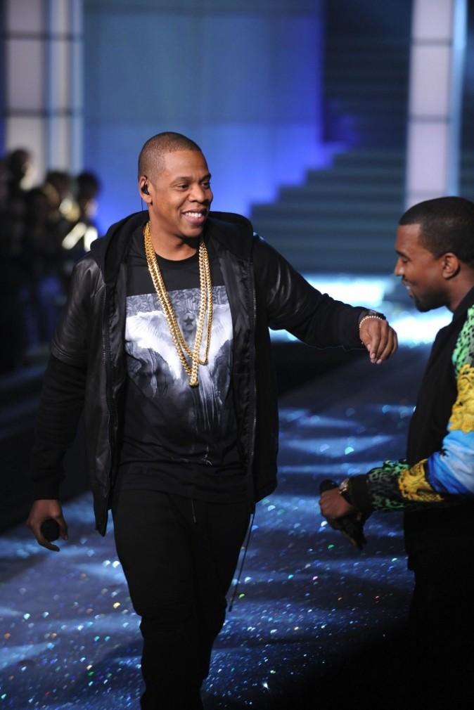 Jay-Z lors du Victoria's Secret Fashion Show à New York, le 9 novembre 2011.