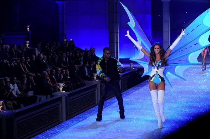 Kanye West lors du Victoria's Secret Fashion Show à New York, le 9 novembre 2011.