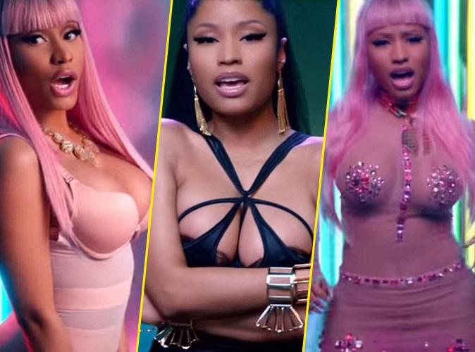 Nicki Minaj moul�e comme jamais dans