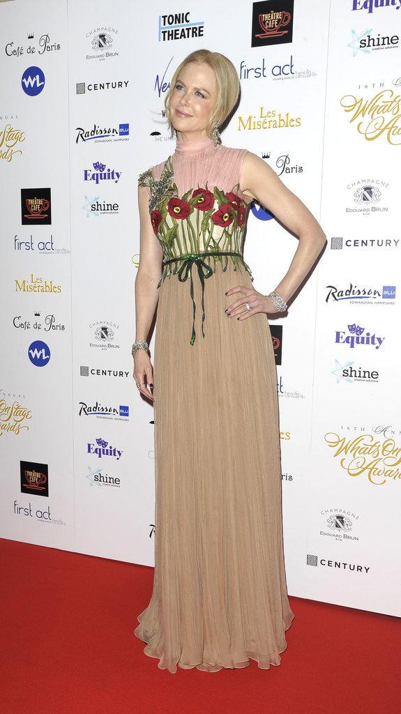 Nicole Kidman, une actrice talentueuse