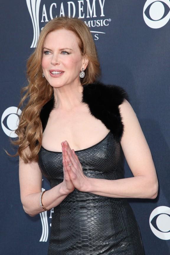 Nicole Kidman lors de la 46e cérémonie annuelle des Academy of Country Music Awards à Las Vegas, le 3 avril 2011.