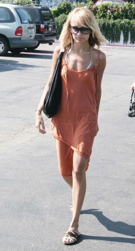 Nicole Richie au plus bas de son poids en 2005