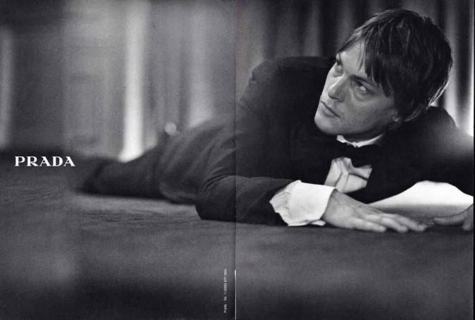 Norman Reedus pour Prada