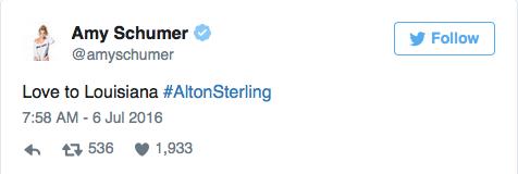 Drame raciste aux Etats-Unis : les stars dénoncent le meurtre d'Alton Sterling