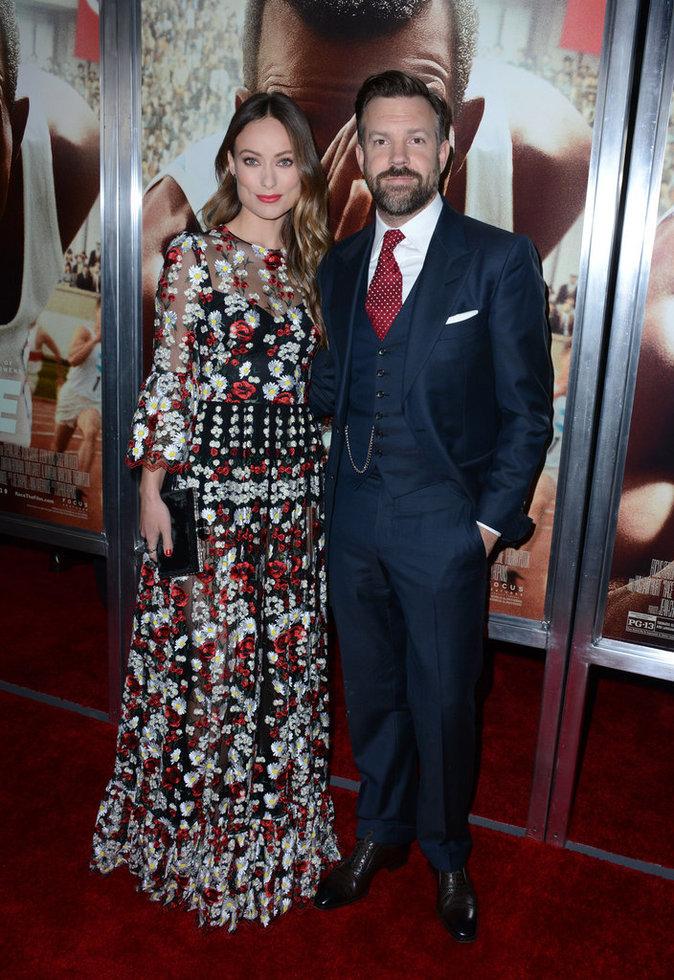 Olivia Wilde et son mari, élégants et resplendissants à la première du film Race