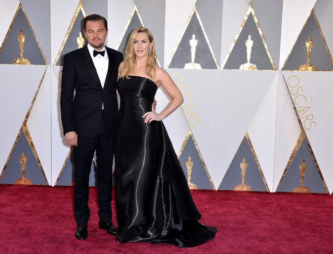 Leonardo Dicaprio est arrivé aux bras de Kate Winslet Oscars 2016