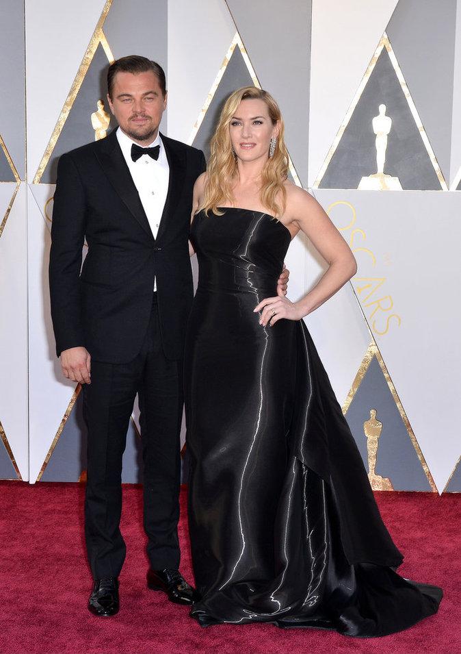 Leonardo Dicaprio et Kate Winslet, toujours aussi proches