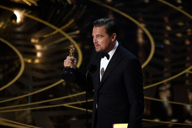 Leonardo Dicaprio, fier de son Oscar