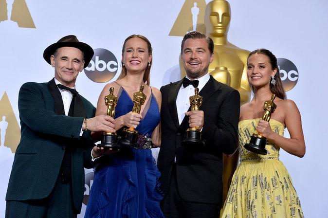 Les grands gagants des Oscars 2016