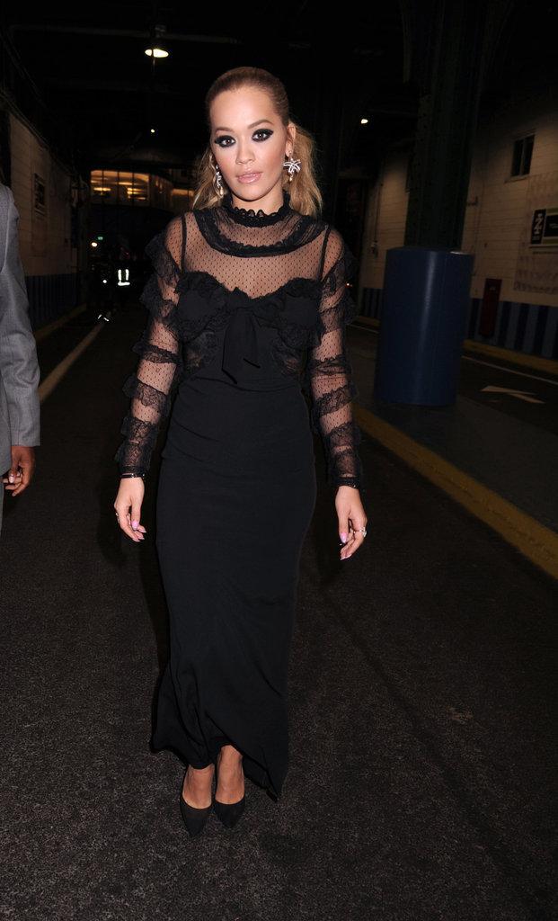 Rita Ora à l'avant-première d'America's Next Top Model