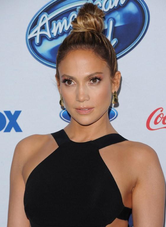 Jennifer Lopez à une soirée American Idol organisée à Los Angeles le 20 février 2014