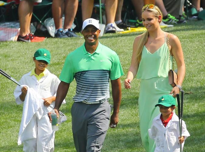 Photo : Après le scandale, Tiger Woods retrouve le sourire avec la jolie Lindsey Vonn !