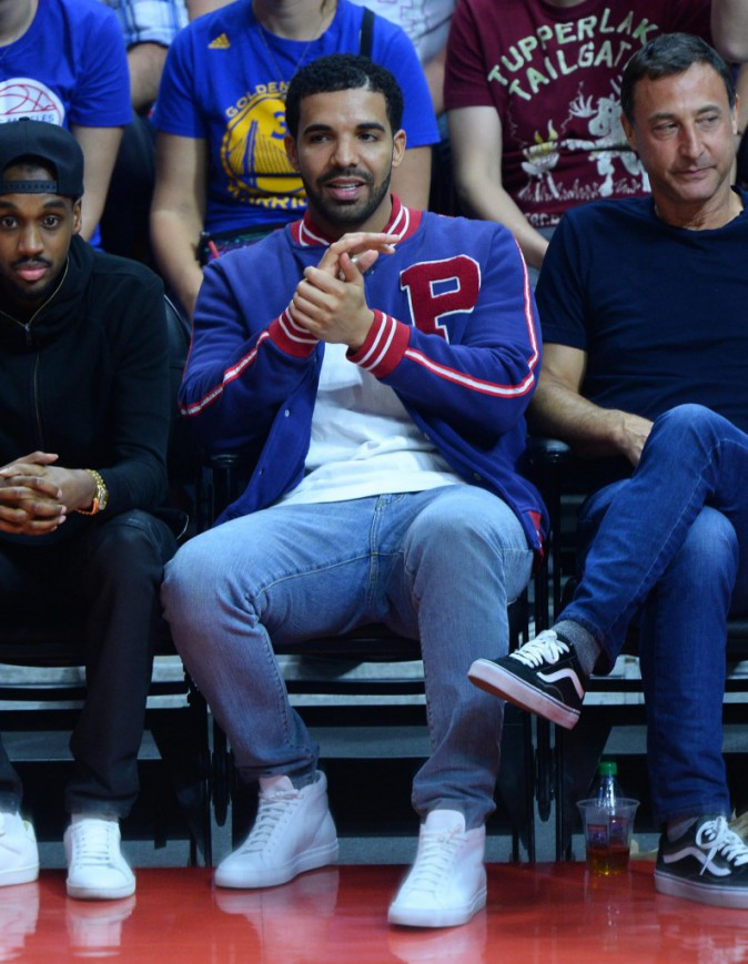 Drake assiste au match des Clippers