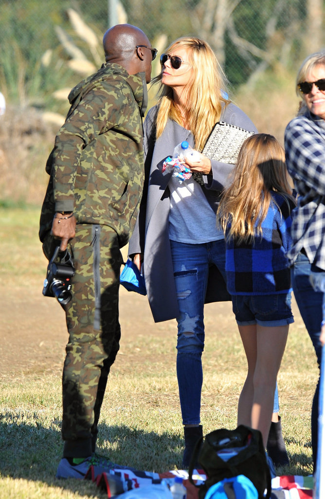 Photo : Heidi Klum et Seal de nouveau ensemble pour une sortie familiale