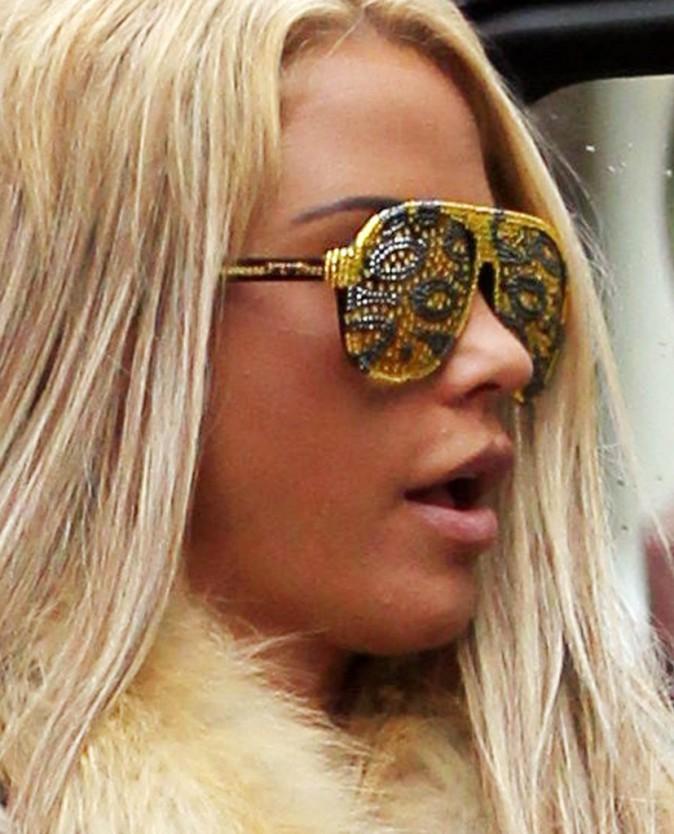 Les lunettes très sobres !