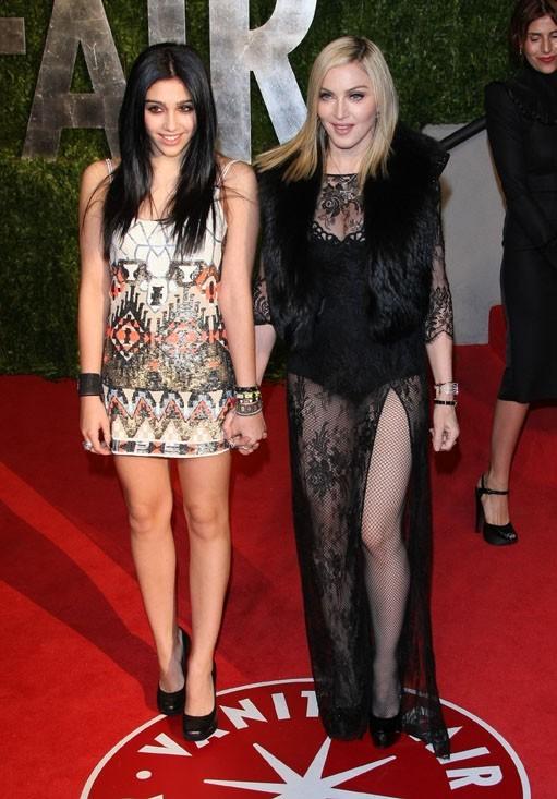 Avec sa fille Lourdes