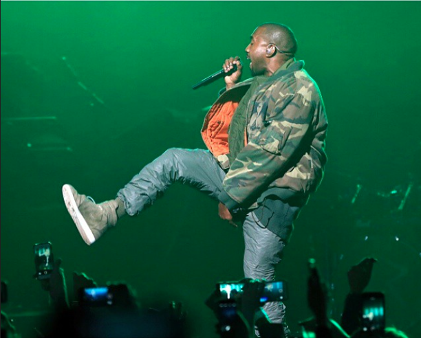 Kanye West le 31 janvier 2015