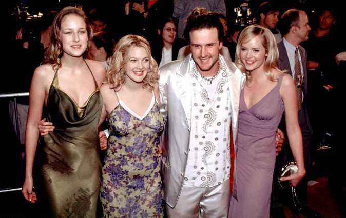 Drew Barrymore et David Arquette