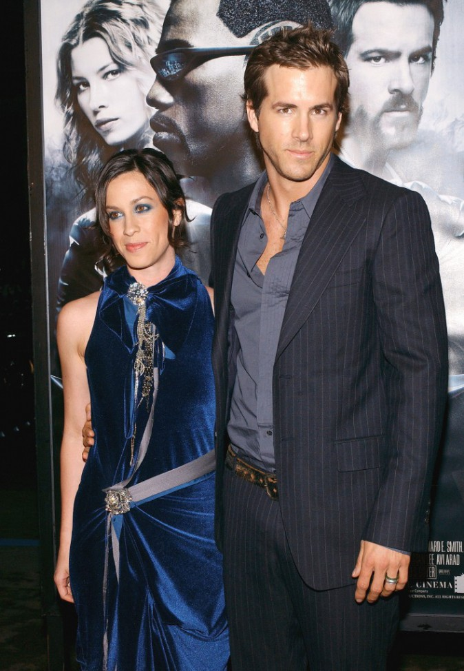 Ryan Reynolds et Analis Morissette