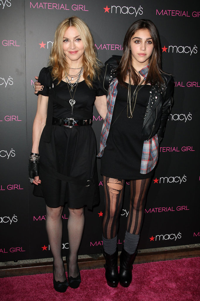 Madonna et Lourdes Ciccone
