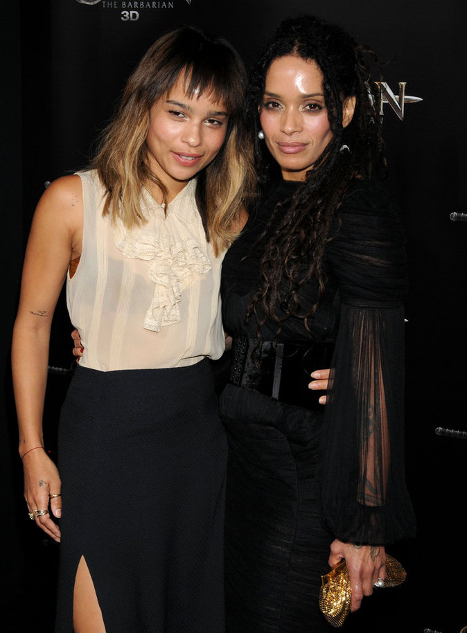 Zoé Kravitz et Lisa Bonet