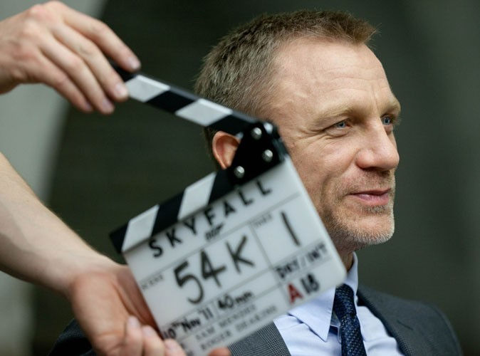 Photos : Daniel Craig est James Bond dans Skyfall