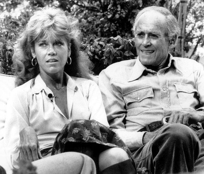 Photos : Ces 47 papas ont offert la célébrité en héritage à leurs enfants : Jane Fonda et Henry Fonda