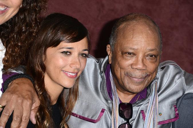 Photos : Ces 47 papas ont offert la célébrité en héritage à leurs enfants : Quincy Jones et Rashida Jones