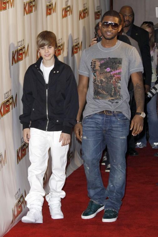 Usher fera une apparition dans Never Say Never.