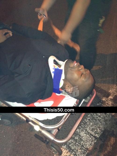 Sous le choc, après l'accident sur l'autoroute de Long Island