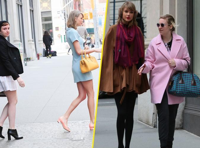 Taylor et Lena Dunham