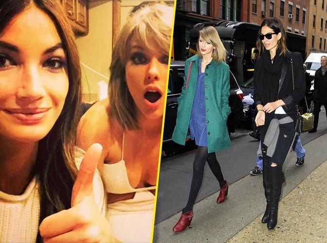 Taylor et Lily Aldridge
