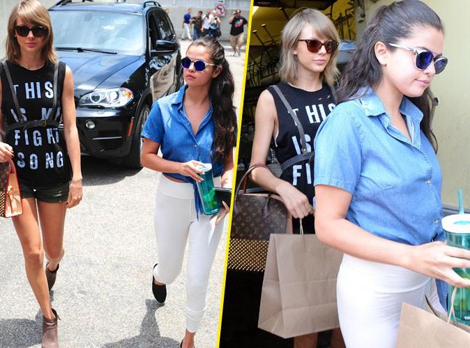Taylor et Selena Gomez