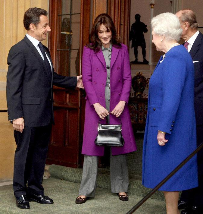 Avec Nicolas Sarkozy et Carla Bruni