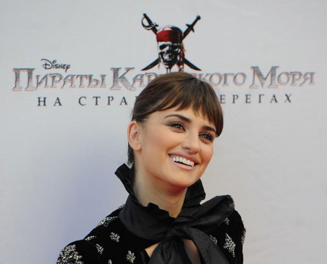 Penelope Cruz lors de la première de Pirates des Caraïbes à Moscou, le 11 mai 2011.