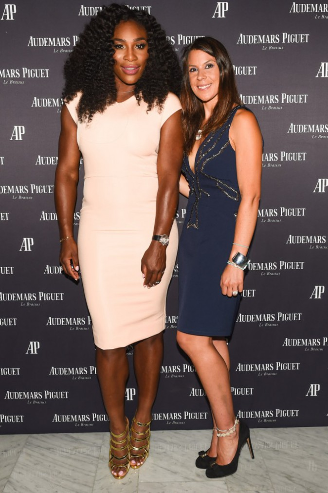 Serena Williams et Marion Bartoli