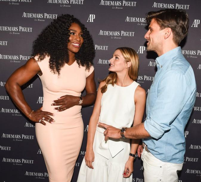 Serena Williams, Oivia Palermo et Johannes Huebl