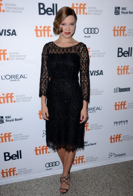 Léa Seydoux lors du Festival International du Film de Toronto, le 5 septembre 2013.