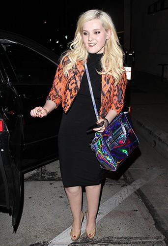 Abigail Breslin à Los Angeles le 11 août 2013