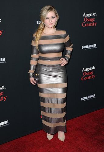 Abigail Breslin à Los Angeles le 16 décembre 2013