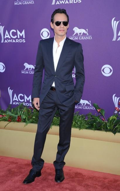 Marc Anthony lors de la soirée des ACM 2012 à Las Vegas, le 1er avril 2012.