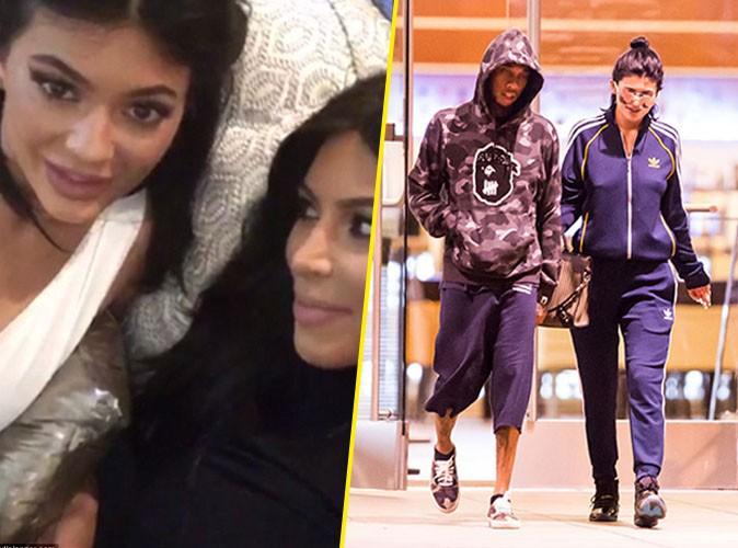 Kylie Jenner, Tyga et Kim Kardashian le 24 septembre 2015