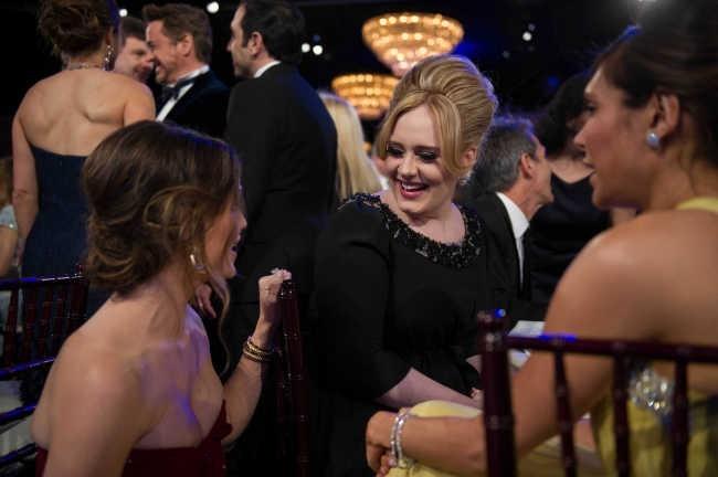 Adele et Jennifer Garner le 13 janvier 2013 à Los Angeles