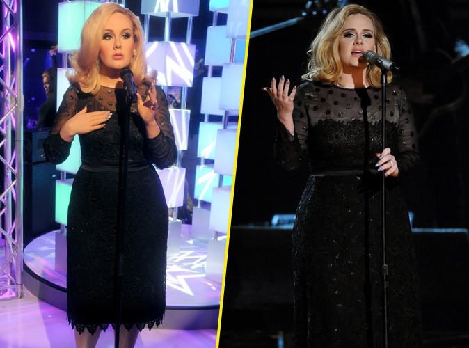 Adele : sa statue de cire plus fine que la version originale !