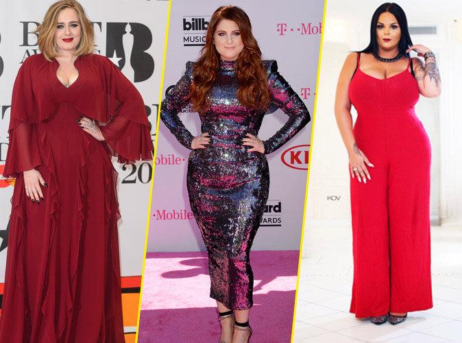 Photos : Adele, Sarah Fraisou, Meghan Trainor... Les rondeurs leur vont si bien !