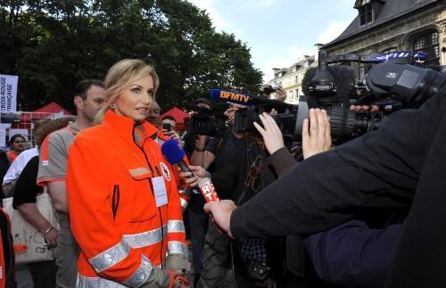 Adriana Karembeu, Rouen, 1er juin 2013.